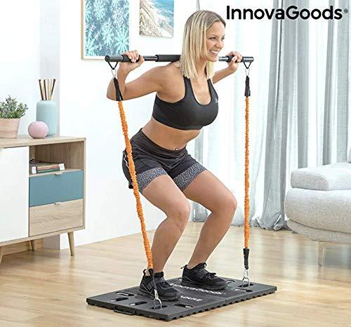 InnovaGoods Sistema de Entrenamiento Integral Portátil con Guía de Ejercicios Gympak MAX-Fitness, Gym en casa, Adultos Unisex,