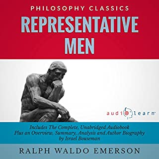 Representative Men by Ralph Waldo Emerson  cover art