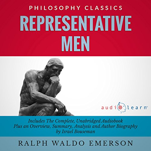 Representative Men by Ralph Waldo Emerson  audiobook cover art