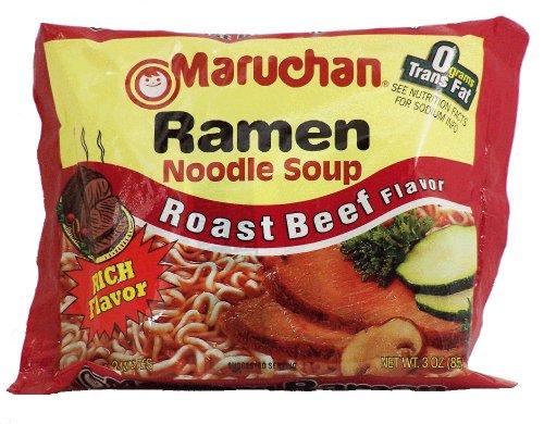 maruchan roast beef ramen - 6