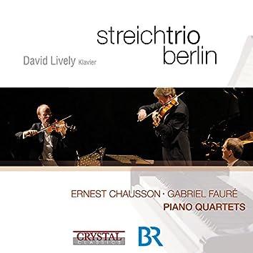 Chausson & Fauré: Piano Quartets