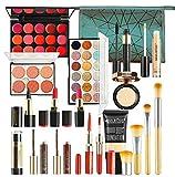19 piezas Kits de Maquillaje, Set de Cosméticos Todo en Uno, Set de Regalo de Maquillaje ...