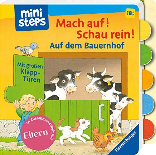 ministeps: Mach auf! Schau rein! Auf dem Bauernhof: Ab 18 Monaten (ministeps Bücher)
