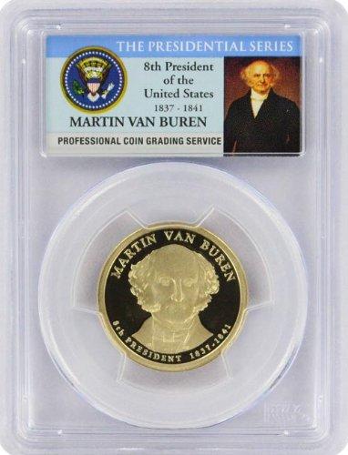 2008 Van Buren Presidential S Proof Presidential Dollar PR-69...