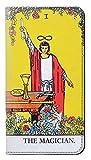 Innovedesire Tarot Card The Magician Flip Hülle Tasche Klappetui für LG X power2, LG X Charge, LG K10 Power, LG Fiesta