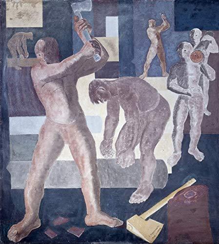 Candido Portinari Giclee Auf Leinwand drucken-Berühmte Gemälde Kunst Poster-Reproduktion Wand Dekoration(Pau Brasil Painéis Do Konjunkturzyklus Brasilien Pau Panels des Konjunkturzyklus) #XFB