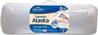 Bleu Câlin Traversin Confort 'Alaska' Blancs 160 cm PCPI