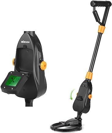 KKmoon Detector de metales ligero portátil con espiral de búsqueda impermeable para niños