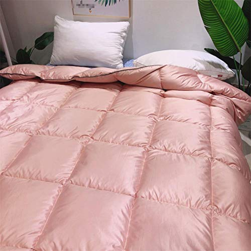 Laoling The Quilt Core Down Duvet Core Washable Exquisite Fluffy Thick Winter Bedding Warm Feather Quilt Duvet Core For Home PINK 200x230
