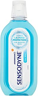 Sensodyne Sensitive Care Mouthwash with Fluoride, 500 ml, Cool Mint