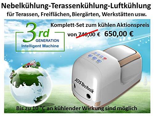 Sistema de refrigeración antiniebla Fog Machine – 70 bares. El mejor precio de su clase.