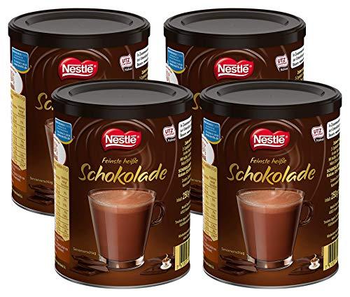 Nestlé Feinste heisse Schokolade, 4er Pack (4 x 250g)