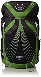 lightweight hiking backpack review of the Osprey Exos