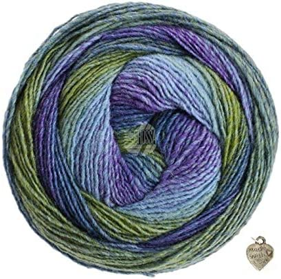 lana Grossa-kilómetros 6-especializada 150 staccato-FB 9446 150 G Lana creativo