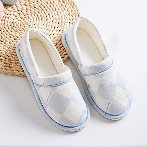 Losse oude schoenen,Dunne sectie met antislip schoenen, zachte onderkant moederschap pantoffels-40_Diamond kersenblauw,Zeer brede echte damesschoen voor dames