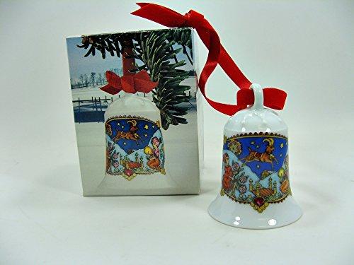 Hutschenreuther Weihnachtsglocke 1979*Rarität, Porzellanglocke, Weihnachten, Anhänger, Baumschmuck
