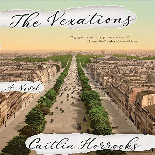 The Vexations audiobook cover art