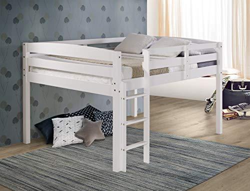 Concord Junior Bed Loft, Full, White
