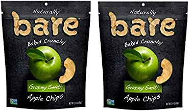 Bare Granny Smith Apple Chips 3.4 oz. (Pack of 2)