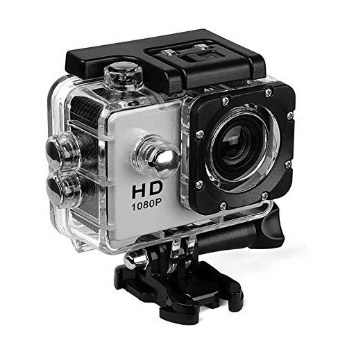 Snow Island A1 4k Ultra HD 1080p impermeabile 5,1 cm Action Camcorder DV Camera Go Car Cam Pro 140° girevole, Grey