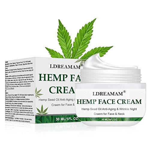 Cannabis Crema,Crema De Cáñamo,Crema antioxidante,Mejorar el sueño, aliviar el estrés, aliviar...