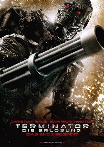 Terminator: Die Erlösung: Teaser B (2009)   original Filmplakat, Poster [Din A1, 59 x 84 cm]