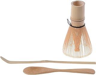 fouet pour les matchazubereitung Quertee/® cuill/ère-cuill/ère /à matcha en bambou