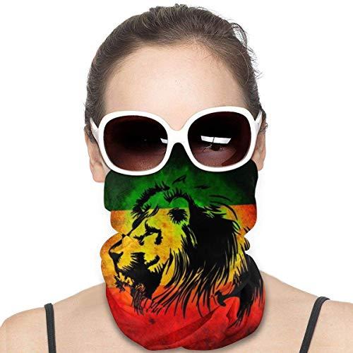 Nother Funda para el cuello con la bandera africana The Of Judah Rasta Rastafari Jamaica, versátil, multifunción, para el cuello, pasamontañas, para niños, mujeres, hombres, exteriores, protección UV