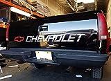 Gray Metallic Bed Tail Decal Sticker Chevy Vinyl Graphics Window Banner Windshield hd 1500 Truck Sticker