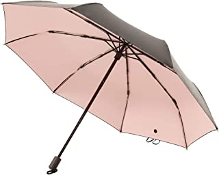 Saiveina Compact UV Parasol Umbrellas, Sun Blocking Umbrella with Cooling Glue Coating