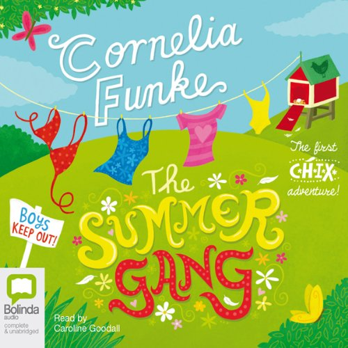 The Summer Gang audiobook cover art