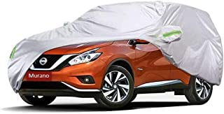 KTYXDE Car Car Cover Indoor and Outdoor Thick Oxford Cloth Anti-fouling Sun Protection Rain Warm Cover for Nissan Murano Off-Road Vehicle SUV Car Cover (Size : 2015)