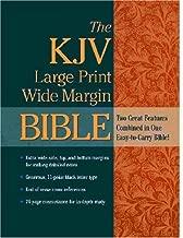 The KJV Large Print Wide Margin Bible