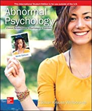 Best abnormal psychology ninth edition Reviews