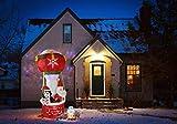 CCLIFE Decoración de Papá Noel hinchable con soplador eléctrico integrado