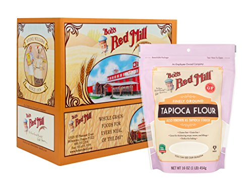 Bob's Red Mill Finely Ground Tapioca Flour, 16 Ounce (Pack of 4)