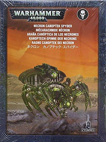 Games Workshop-Figura de acción Warhammer 40K Necron Canoptek Spyder (FBA_49-16)