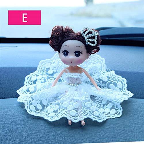 Auto Ornament Für Hochzeitskleid Mädchen Brautschleier Braut Ehe Pflege Stoff Lassock Auto Dekoration Autos Interieur Dashboard, E, China