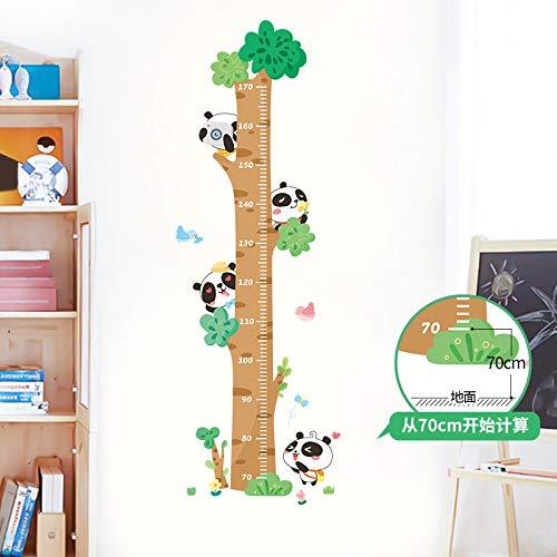 MFKW Creatieve boom hoogte muur stickers verwijderbare slaapkamer kinderkamer decoratie baby hoogte meetlint stickers zelfklevend