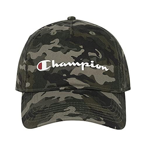 Champion Ameritage Dad Adjustable Cap, Camo, One Size