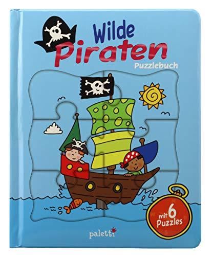 paletti Puzzlebuch Wilde Piraten Vorlesebuch mit 6 Puzzles