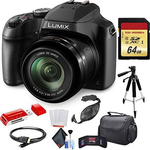 Panasonic Lumix DC-FZ80 Digital Camera + Pro Accessory Kit