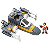 Star Wars Playskool Heroes Galactic Heroes Poe's X-Wing Fighter -