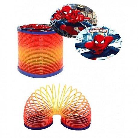 les colis noirs lcn Lot de 10 Funny Twist Ondamania Ressort Spiderman Marvel - Modèle Aléatoire - Jeu Jouet - 997