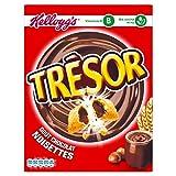Trésor - céréales fourrés au chocolat et aux noisettes Kellogg's 410g