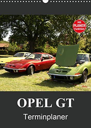 Opel GT Terminplaner (Wandkalender 2021 DIN A3 hoch)