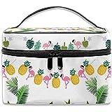 Bolso de Maquillaje de piña Hawaiana Bolsa de cosméticos Bolsa de baño Grande Organizador de Viaje para Mujeres Hombres Chica
