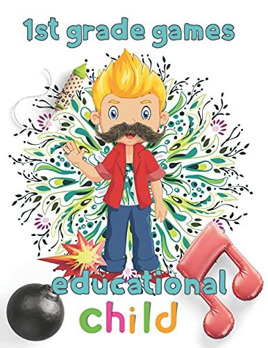 1st Grade games educational child: 8.5''x11''/1st grade math
