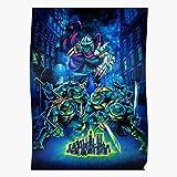 Arcade Teenage Ninja Turtles Retro Tmnt Mutant Shinobi Home Decor Wall Art Print Poster !