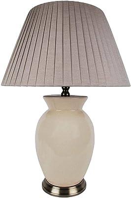 PAGAZZI Christina Table Lamp Desk Home Lounge Bedside Light Lighting Cream 560mm XXX6012